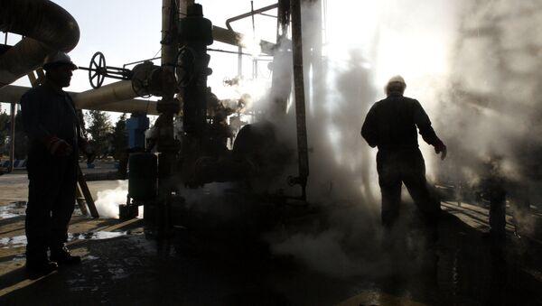 Závod na zpracování ropy v Íránu - Sputnik Česká republika