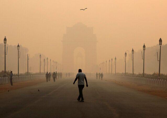 Indická brána v Novém Dillí