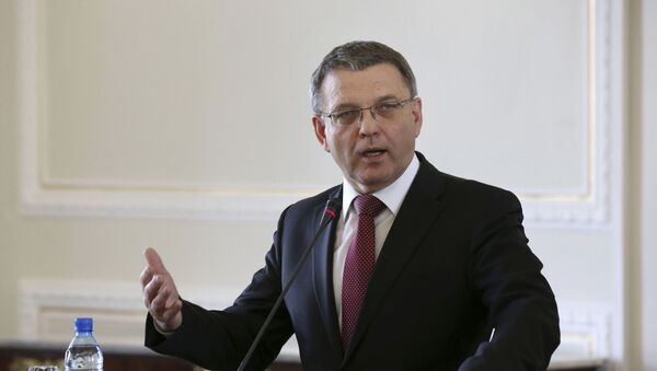 Poslanec Lubomír Zaorálek - Sputnik Česká republika
