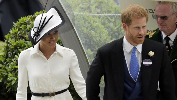 Princ Harry a Meghan Markleová - Sputnik Česká republika