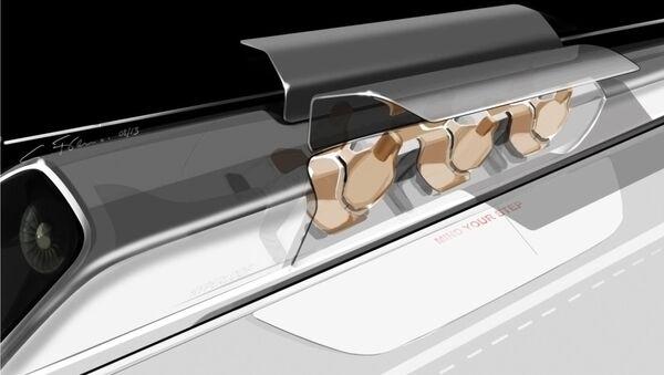 Dopravní systém Hyperloop - Sputnik Česká republika