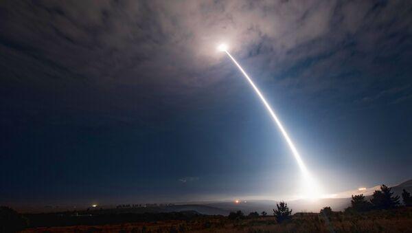 Test mezikontinentální balistické střely Minuteman III - Sputnik Česká republika
