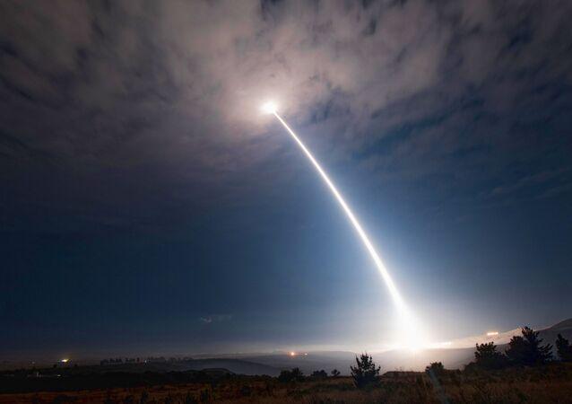 Test mezikontinentální balistické střely Minuteman III