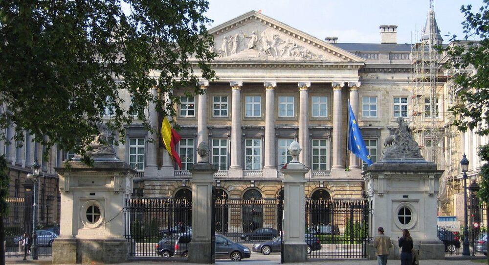 Budova belgického parlamentu v Bruselu