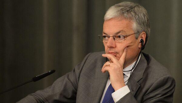 belgický vicepremiér a ministr zahraničí Didier Reynders. - Sputnik Česká republika
