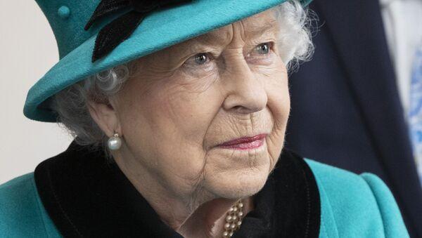 Britská královna Alžběta II - Sputnik Česká republika