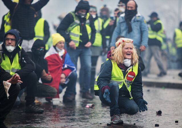 Akce žlutých vest v Paříži