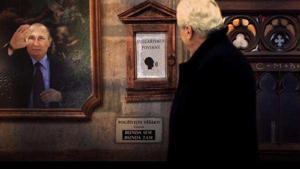 Zeman a Putin - Sputnik Česká republika