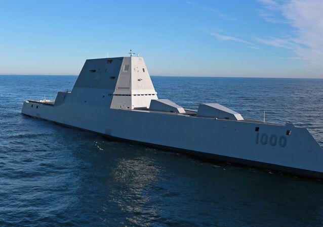 Torpédoborec USS Michael Monsoor třídy Zumwalt (DDG-1001)