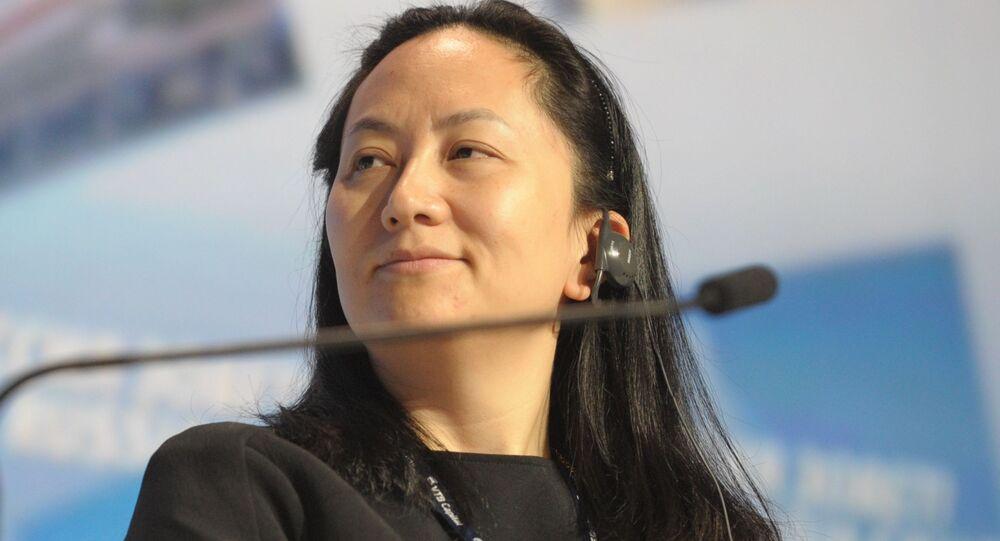 Meng Wan-čou, finanční ředitelka společnosti Huawei