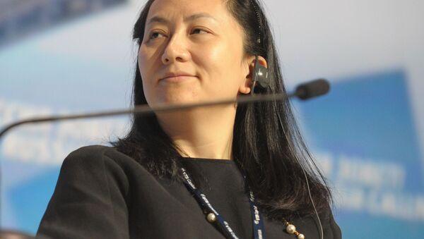 Meng Wan-čou, finanční ředitelka společnosti Huawei - Sputnik Česká republika