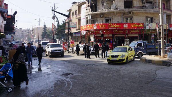 Na trhu v Idlibu. Ilustrační foto - Sputnik Česká republika