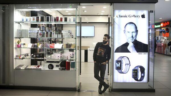 Prodej elektronických přístrojů v Teheránu - Sputnik Česká republika