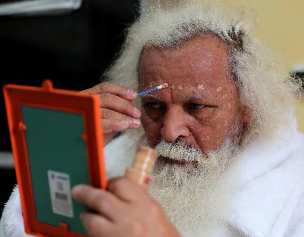 Santa se maluje, Brazílie