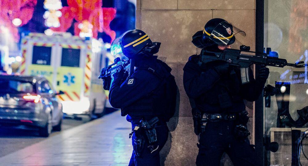 Policisté ve Štrasburku