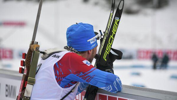 Ruský biatlonista Alexandr Loginov - Sputnik Česká republika