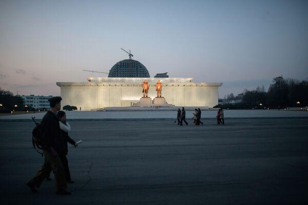 Severní Korea: nové záběry přísné země - Sputnik Česká republika