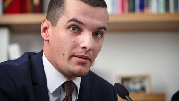 Výkonný ředitel nevládní instituce Evropské hodnoty Jakub Janda  - Sputnik Česká republika