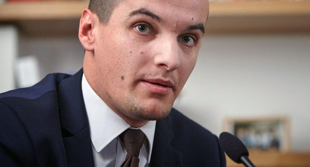 Výkonný ředitel nevládní instituce Evropské hodnoty Jakub Janda