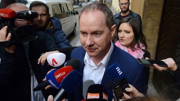 Český politik Petr Gazdík - Sputnik Česká republika