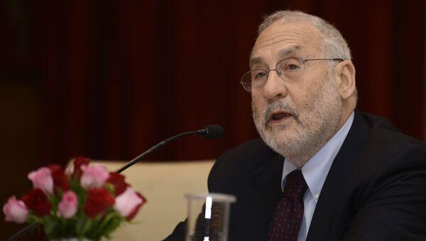 Nositel Nobelovy ceny za ekonomii Joseph Stiglitz - Sputnik Česká republika