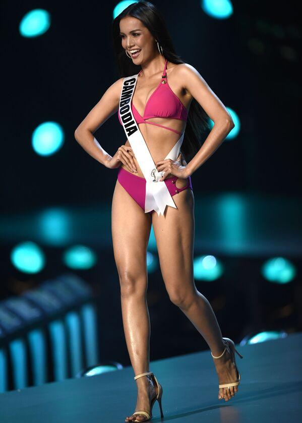 Pikantní záběry z promenády v plavkách na Miss Universe - Sputnik Česká republika