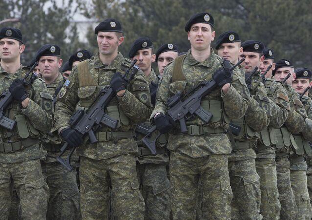 Kosovští vojáci