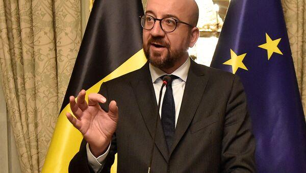Belgický premiér Charles Michel - Sputnik Česká republika
