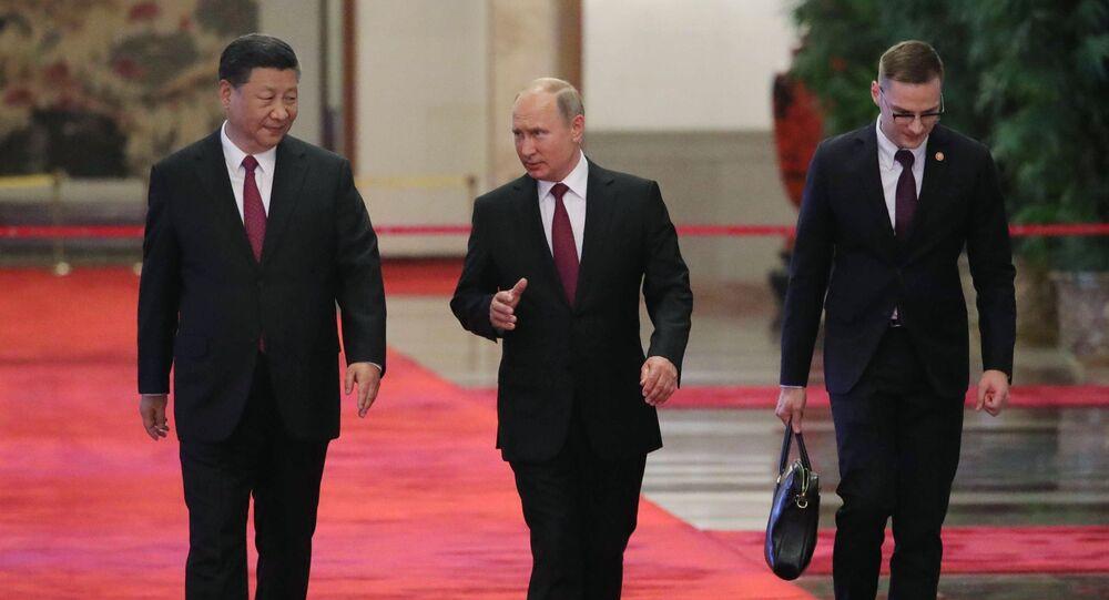 Státní návštěva ruského prezidenta Vladimira Putina v Číně