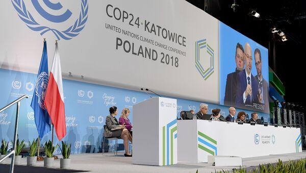 Světová konference OSN pro otázky změny klimatu v Katovicích - Sputnik Česká republika