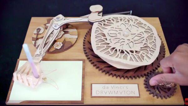 Ruka robota-rytíře Leonarda da Vinciho - Sputnik Česká republika