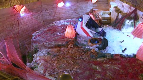 Svatá rodina v podobě tonoucích migrantů. Jak reagovali místní obyvatelé na tento betlém? - Sputnik Česká republika