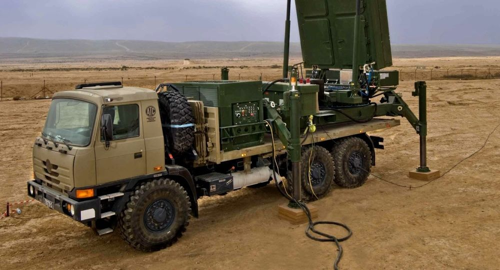 Víceúčelový radar EL/M-2084. Ilustrační foto