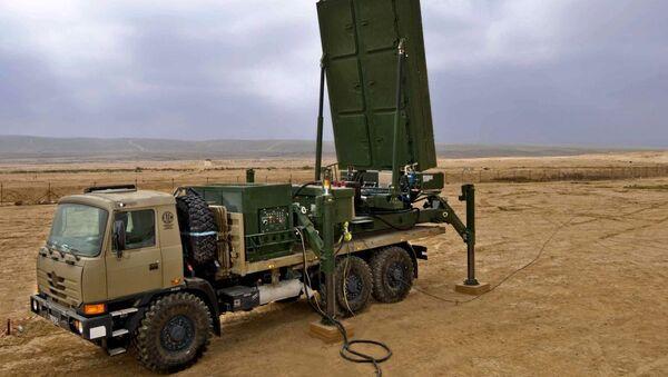 Víceúčelový radar EL/M-2084. Ilustrační foto - Sputnik Česká republika