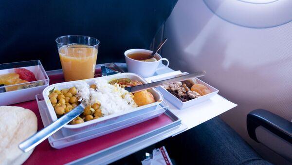 Jídlo v letadle - Sputnik Česká republika