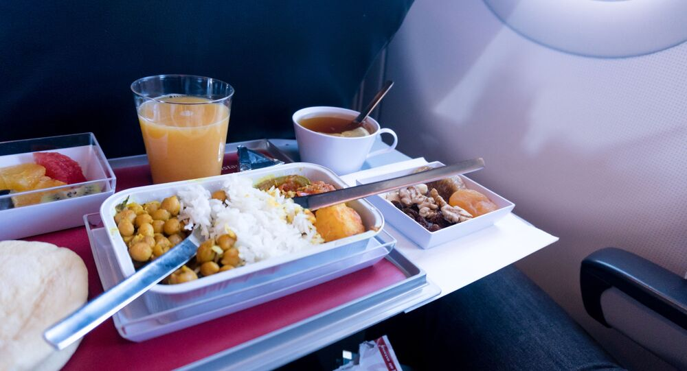 Jídlo v letadle