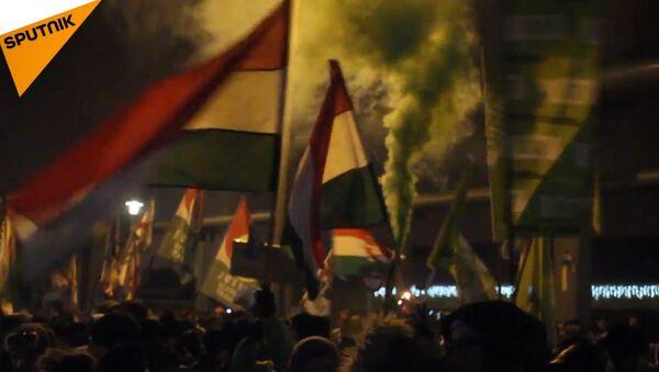 Demonstrace - Sputnik Česká republika