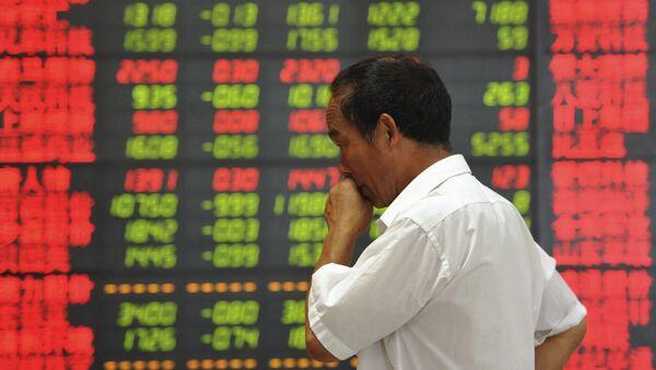 Informace o akciích v Číně - Sputnik Česká republika