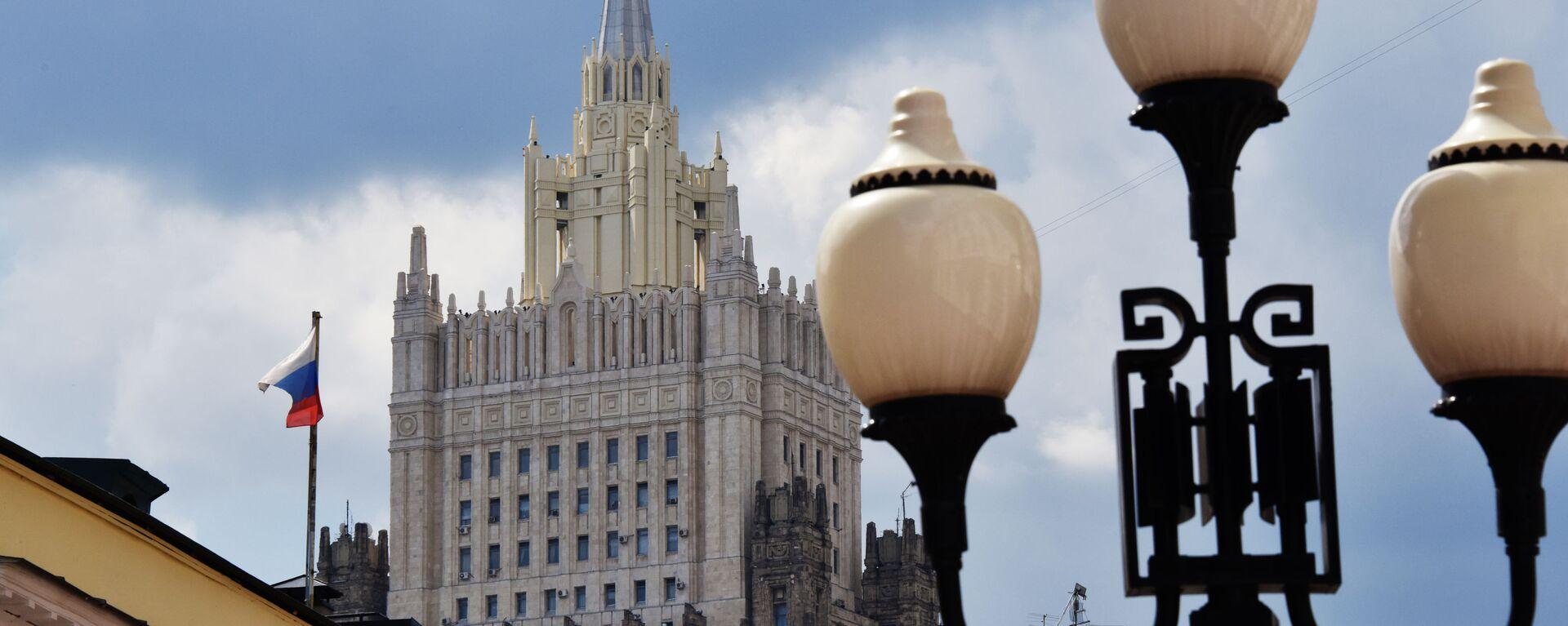 Ministerstvo zahraničních věcí v Moskvě - Sputnik Česká republika, 1920, 23.07.2021