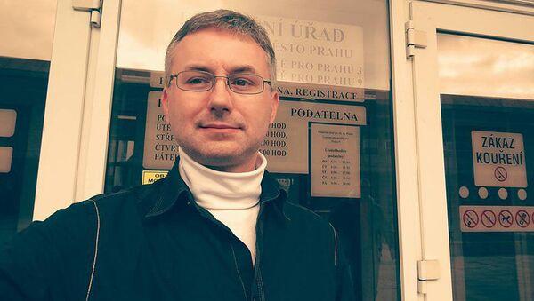 Bývalý místopředseda pražských Svobodných a nyní vlivný člen SPD Pavel Pešan - Sputnik Česká republika