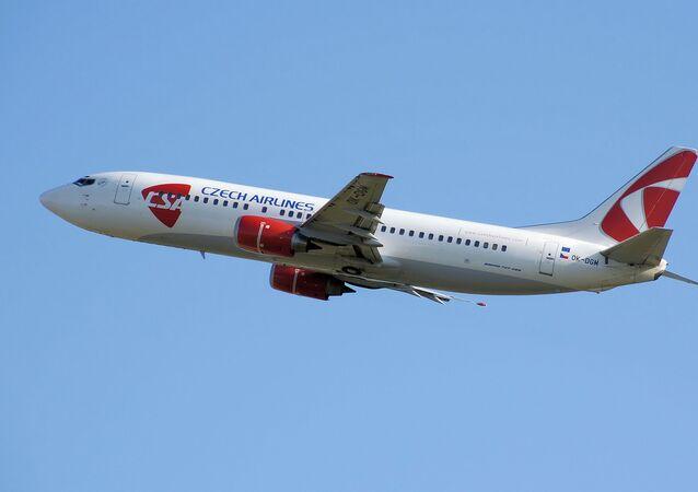 Letadlo letecké společnosti ČSA