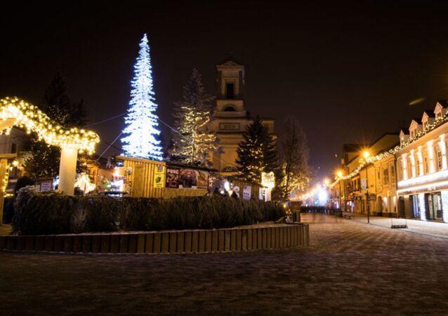 Vánoce na Slovensku.