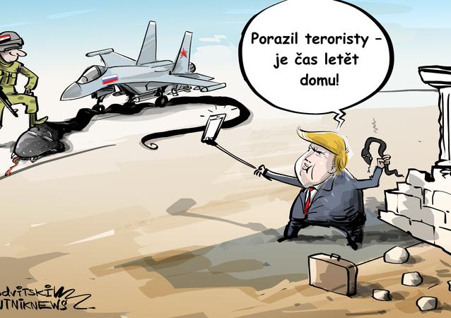 Spojené státy odcházejí ze Sýrie a vyhlašují své vítězství