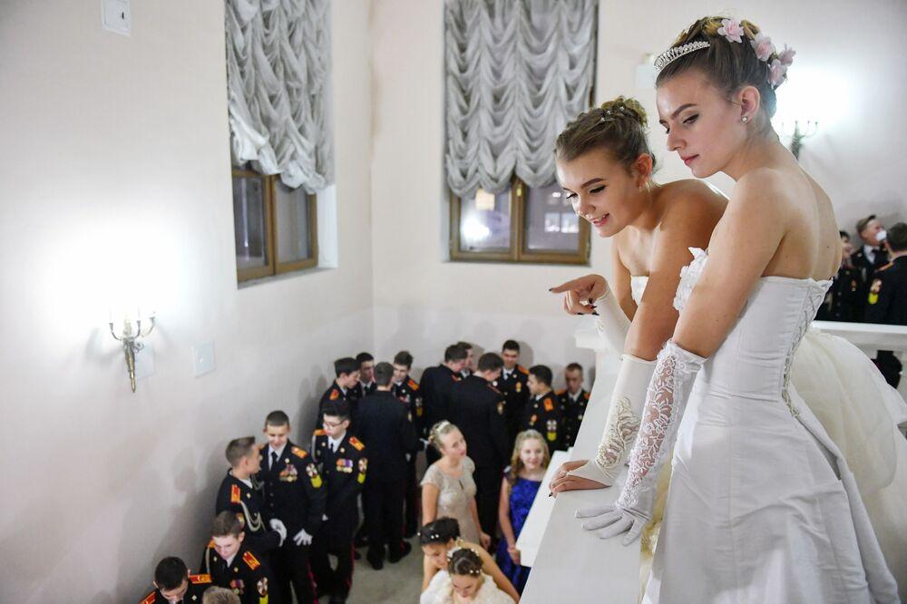 Novoroční kadetský ples Rosgvardie v Paškovském domě