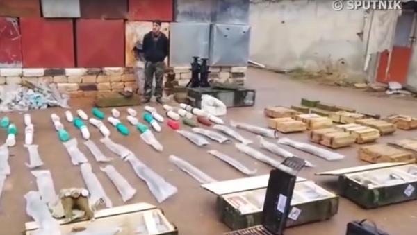 Americké zbraně v Sýrii - Sputnik Česká republika