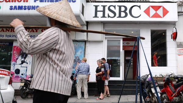 Banka HSBC v Hanoji (Vietnam) - Sputnik Česká republika