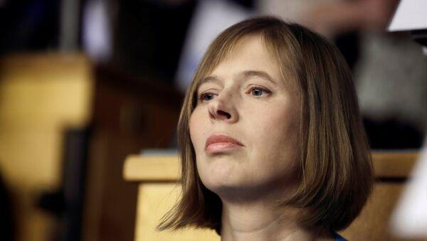 Kersti Kaljulaidová - Sputnik Česká republika