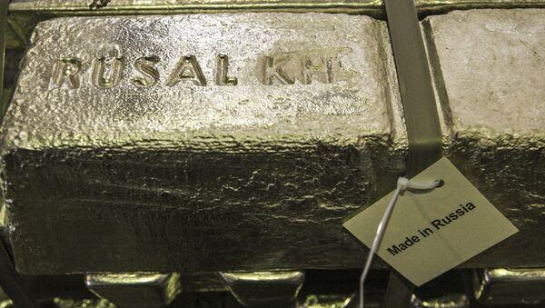 Houska hliníku společnosti Rusal - Sputnik Česká republika