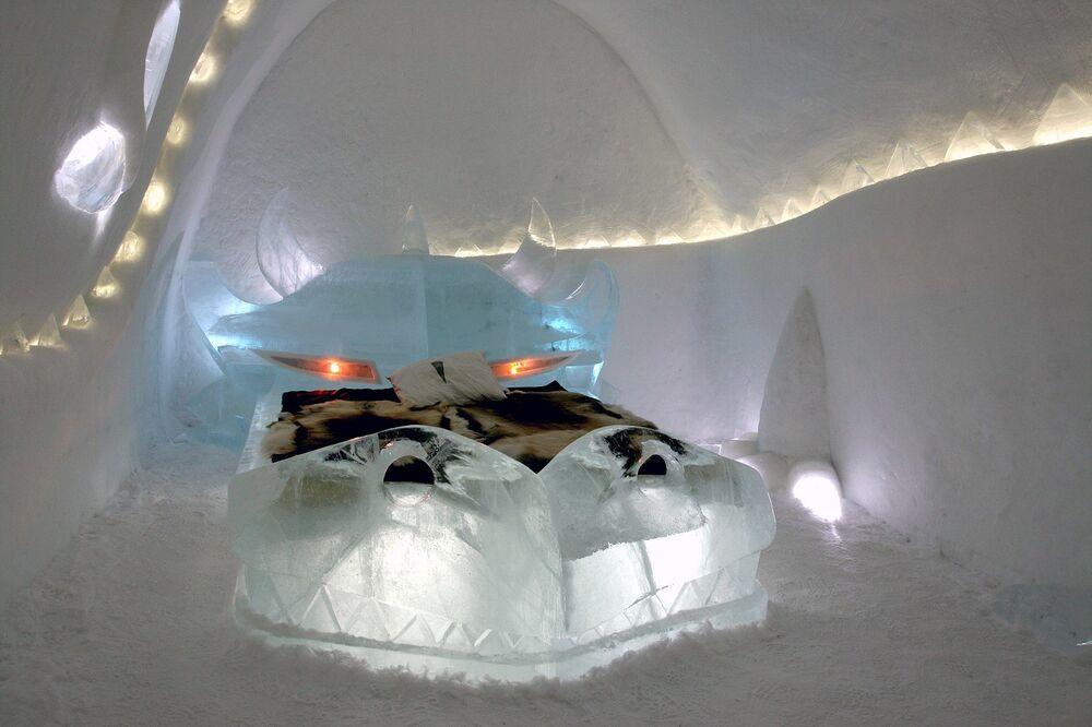 Turistická hibernace: ledové hotely