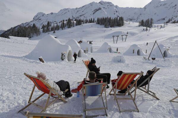 Turistická hibernace: ledové hotely - Sputnik Česká republika